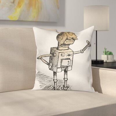 Humor Pillow Cover Size: 16 x 16