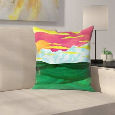 Joe Van Wetering Back Home Throw Pillow Size: 20 x 20