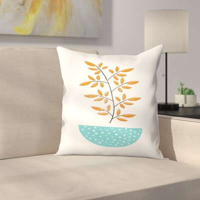 Mid Century Modern Throw Pillow Size: 14 x 14