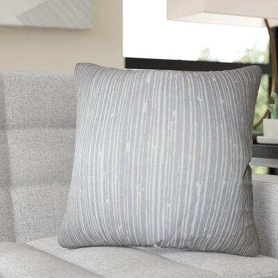 Redwine Stripes Cotton Throw Pillow