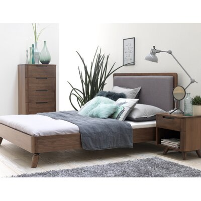 Cottle Upholstered Platform Bed Size: King Size