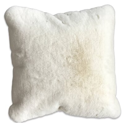 Leigh Woods Throw Pillow Color: Off-White