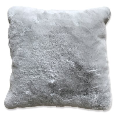 Leigh Woods Throw Pillow Color: Silver