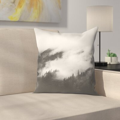 Luke Gram Rolling Fog Il Throw Pillow Size: 14 x 14