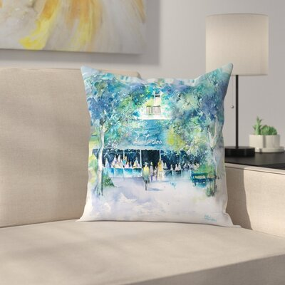 La Toscana Throw Pillow Size: 14 x 14