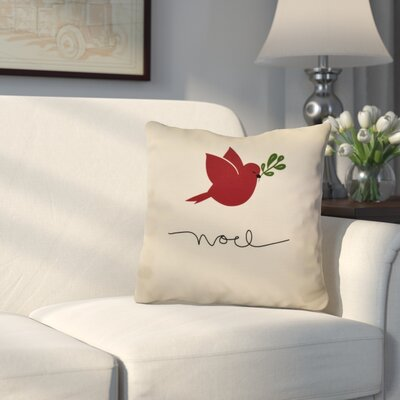 Decorative Holiday Throw Pillow Size: 16 H x 16 W