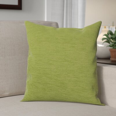 Danin Modern Outdoor Throw Pillow Color: Lime, Size: Medium