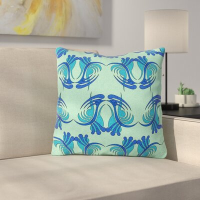 Curvaceous by Dan Sekanwagi Throw Pillow Size: 16 H x 16 W x 3 D