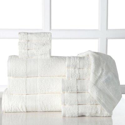 Ziegler 12 Piece Towel Set Color: Ivory