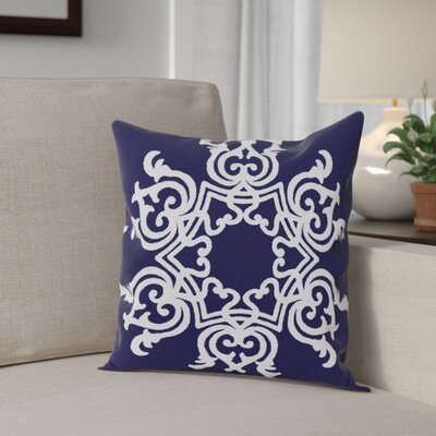 Busselton Throw Pillow Size: 20 H x 20 W, Color: Spring Navy