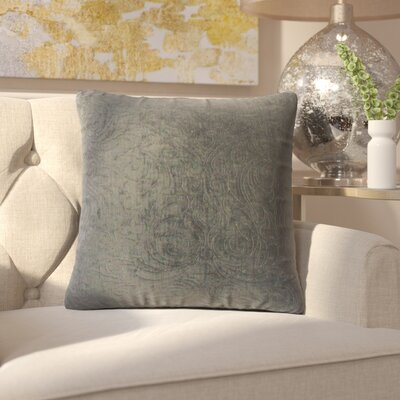 Jayde Solid Throw Pillow Color: Ore