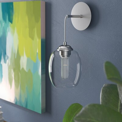 Hagert Wall Pendant Finish: Brushed Nickel