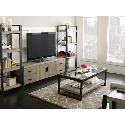 Theodulus 71 TV Stand Color: Driftwood