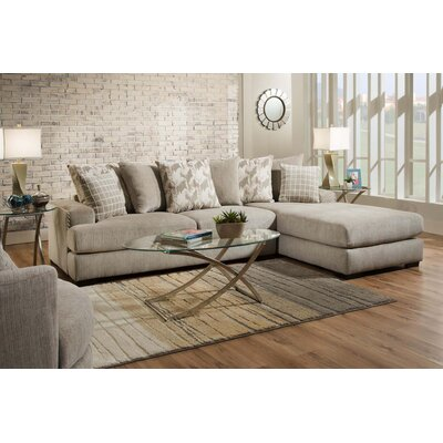 Giusti Sectional Upholstery: Alliance Pewter