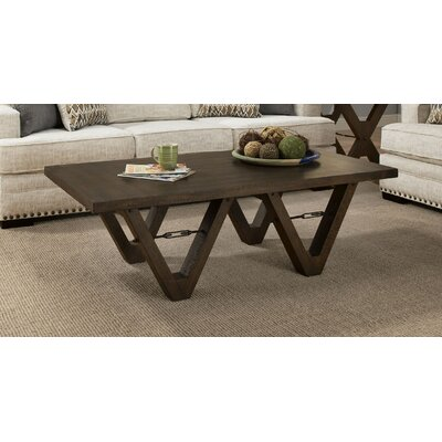 Mayne Coffee Table Color: Distressed Walnut