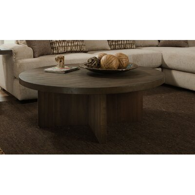 Justice Coffee Table Color: Distressed Walnut