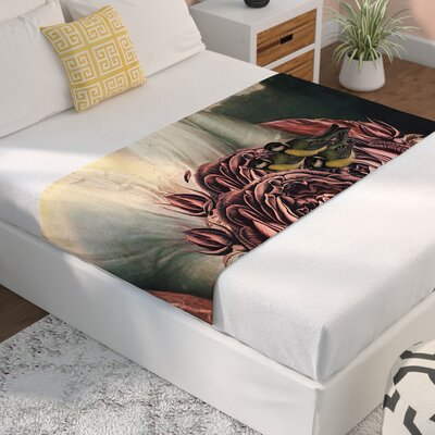 Suzanne Carter The Bouquet Bed Runner