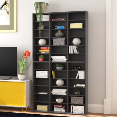 Multimedia Storage Rack Color: Espresso
