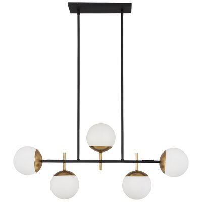 Rosanne 5-Light Kitchen Island Pendant