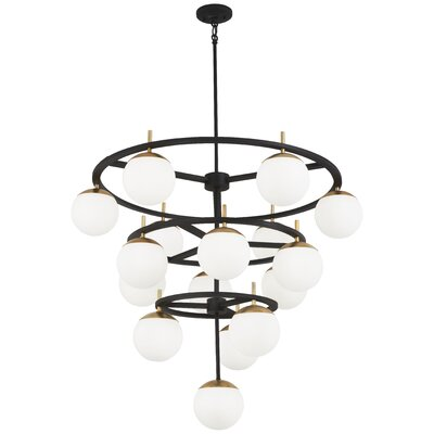 Rosanne 75-Light Candle-Style Chandelier