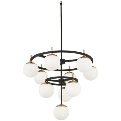 Rosanne 10-Light Candle-Style Chandelier
