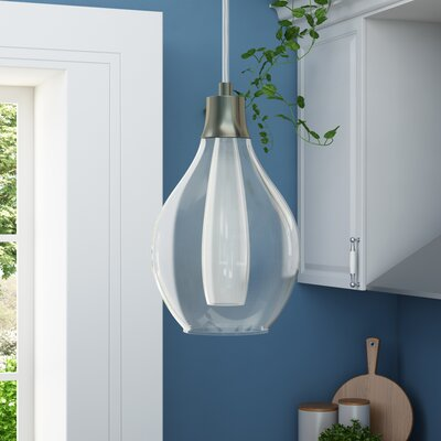 Aubrie 1-Light Metal Mini Pendant