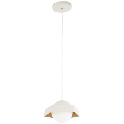 Roseau Leaf 1-Light Mini Pendant