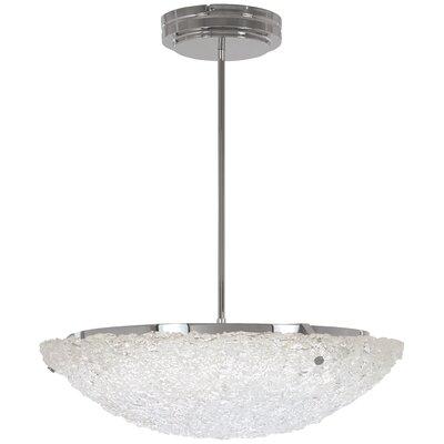 Glatt 1-Light Bowl Pendant