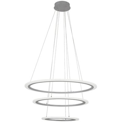 Paynter 3-Light Geometric Pendant