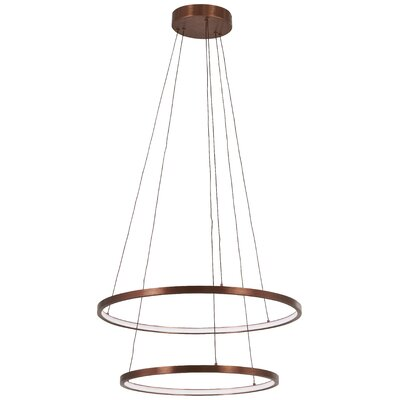 Glaude 2-Light Geometric Pendant