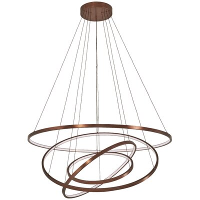 Glaude 4-Light Geometric Pendant