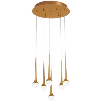 Corson 6-Light Cluster Pendant