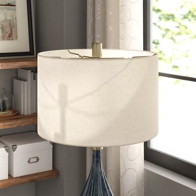 18 Shantung Drum Lamp Shade Color: Gray
