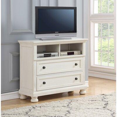 Elkland 45 TV Stand Color: White