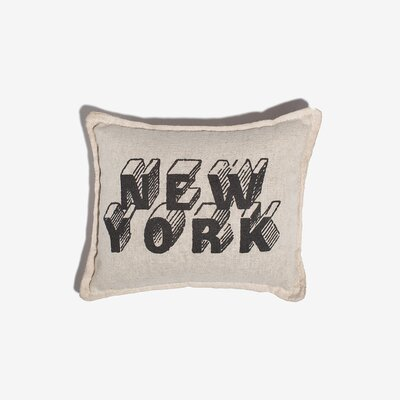 Boatright New York Balsam Cotton Throw Pillow