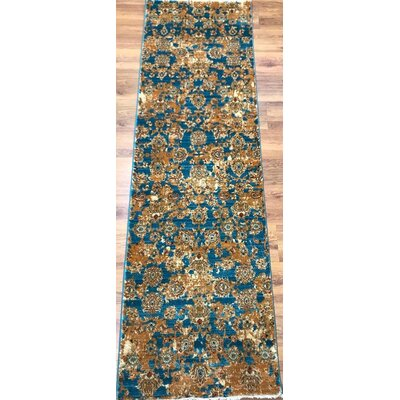 Ivy Hill Oriental Kayi Blue/Yellow Area Rug