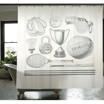 Cuddy Sports Shower Curtain