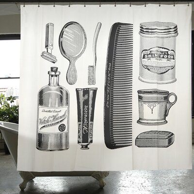 Cuccia Apothecary Shower Curtain