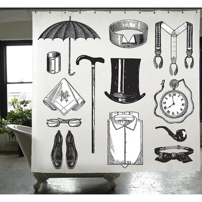 Cuellar Gentleman Shower Curtain