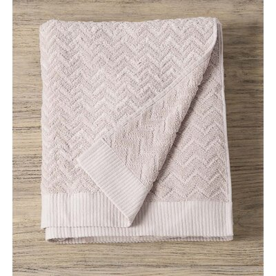 Maughan Cotton Velour Bath Sheet Color: Gray