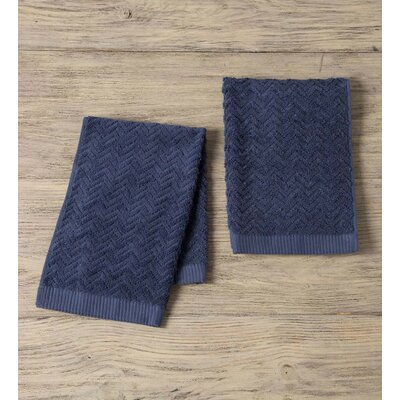 Maughan Cotton Velour Hand Towel Color: Blue