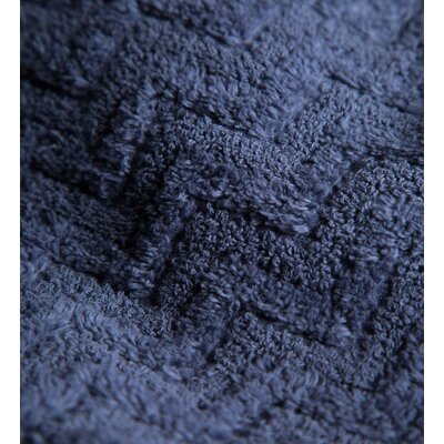Maughan Cotton Velour Bath Towel Color: Blue