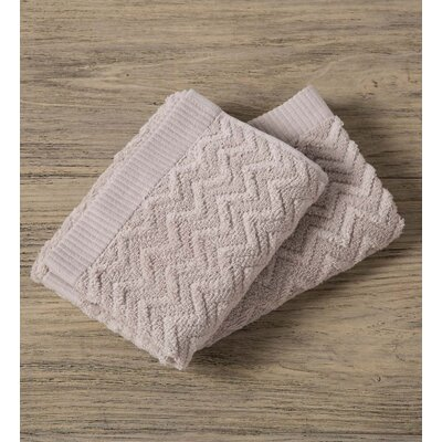 Maughan Cotton Velour Washcloth Color: Gray