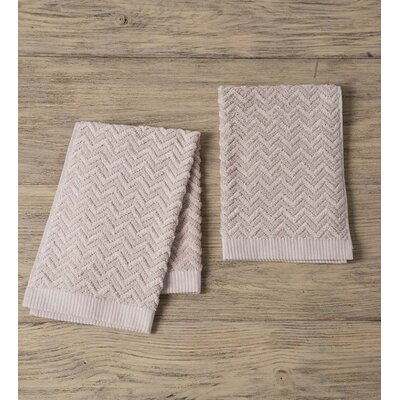 Maughan Cotton Velour Hand Towel Color: Gray
