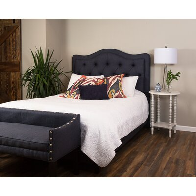 Serafina Upholstered Panel Bed Size: Queen