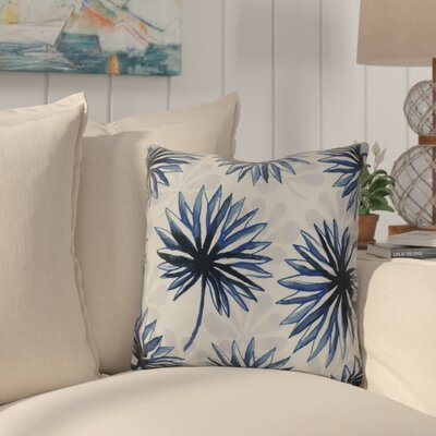 Costigan Throw Pillow Size: 16 H x 16 W x 3 D, Color: Blue