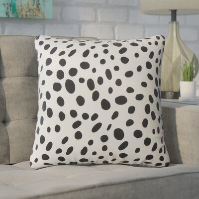 Novello Polka Dot Cotton Throw Pillow