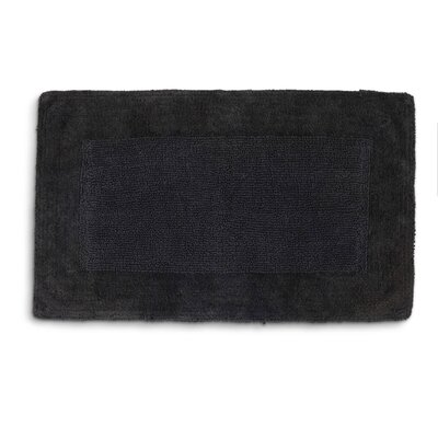 Lankford Extra Plush Bath Rug Size: 21 W x 34 L, Color: Coal
