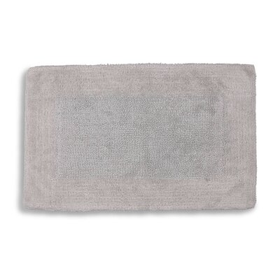 Lankford Extra Plush Bath Rug Size: 21 W x 34 L, Color: Dolphin Gray