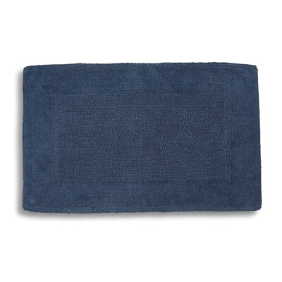 Lankford Extra Plush Bath Rug Size: 21 W x 34 L, Color: Ink Blue